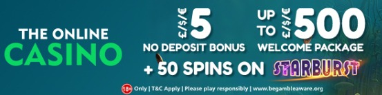 TheOnlineCasino New Welcome Bonus 2020
