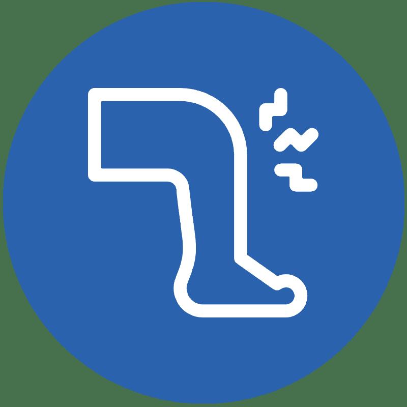 Icon representing sport injury