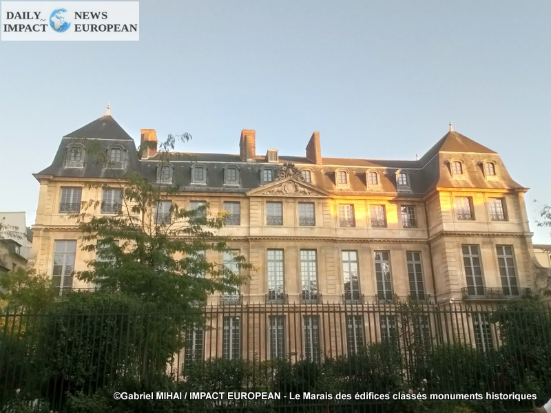 MARAIS: the history of authentic architecture and buildings classified as historical monuments