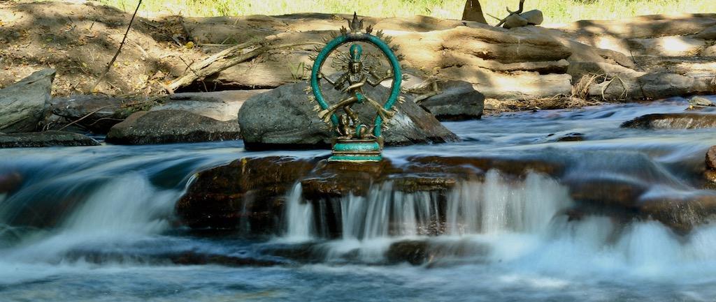 Yogi Trupta by the River