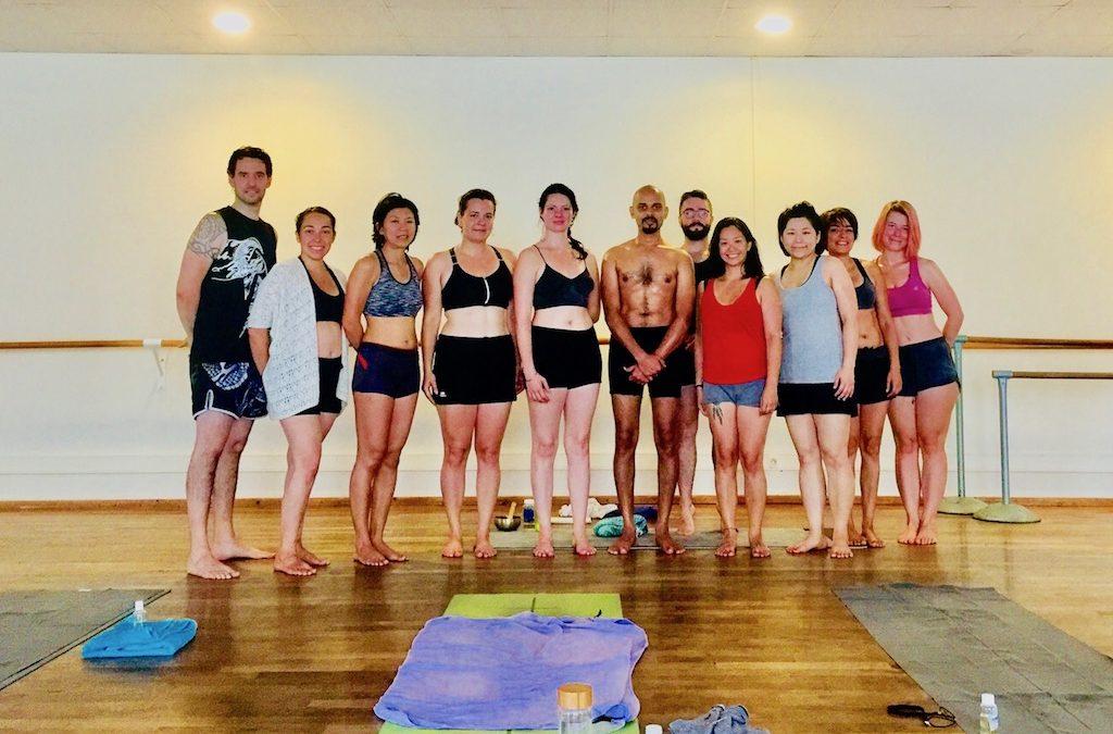 Oil Yoga Workshop Paris