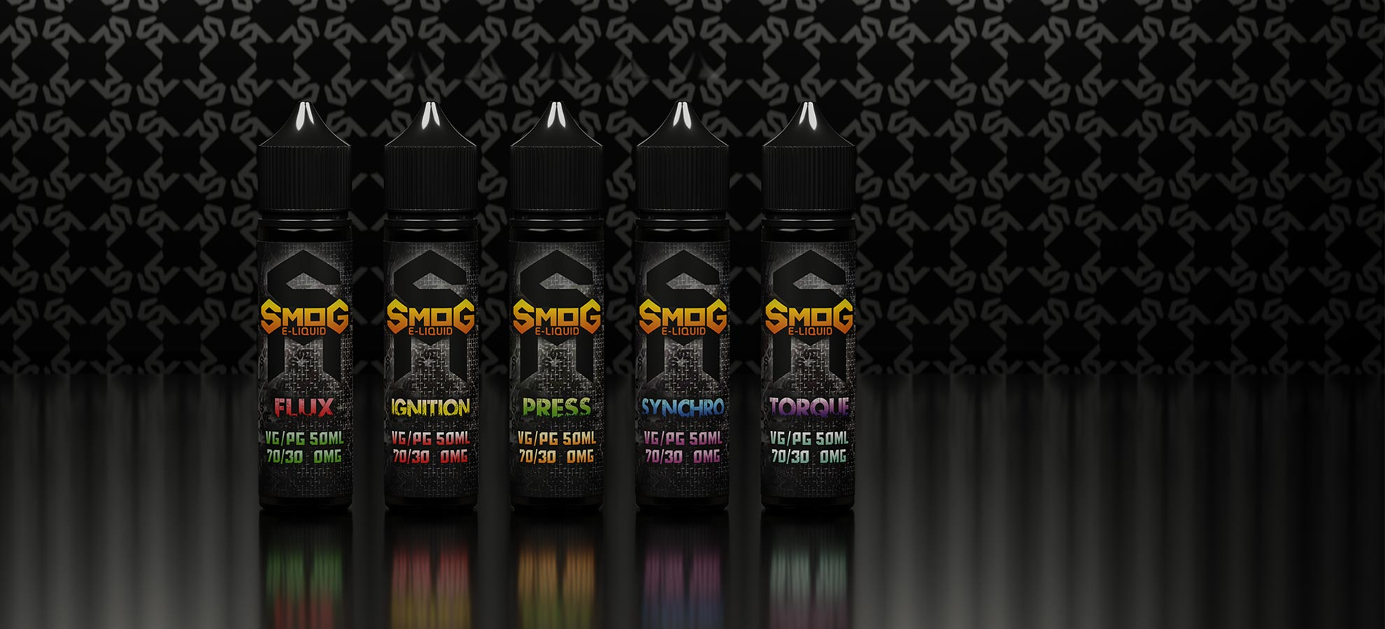 Smog e-liquid slider