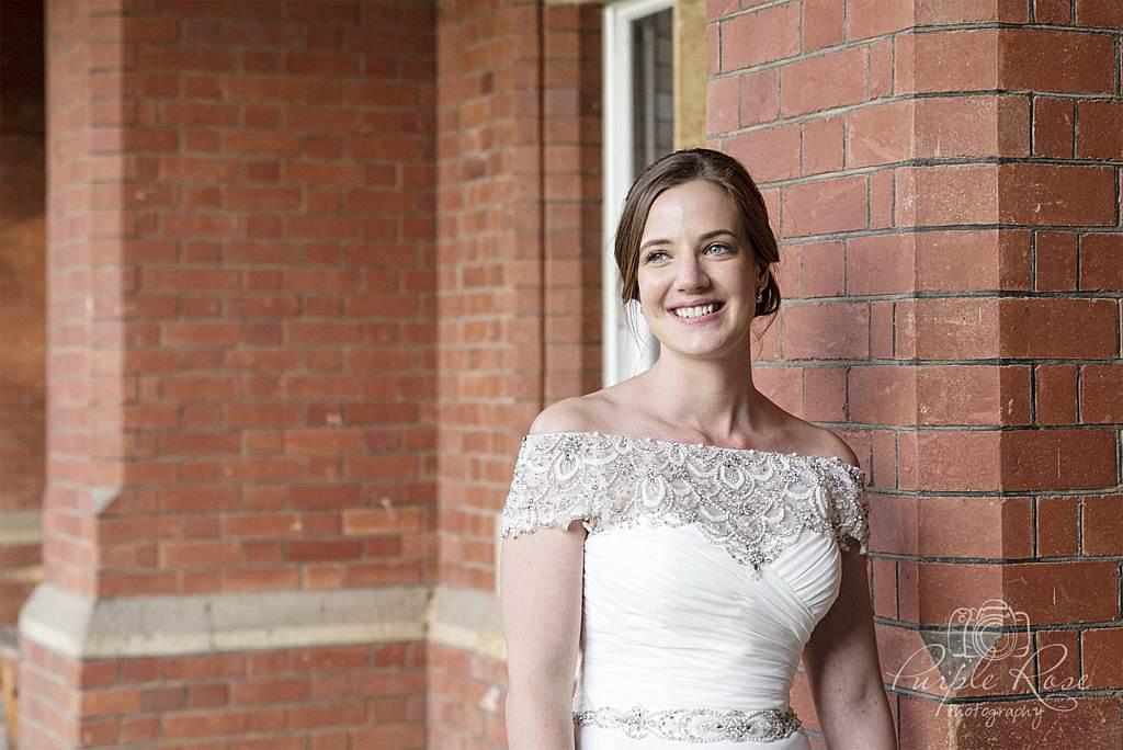 Bridal portrait at Bedford School 2