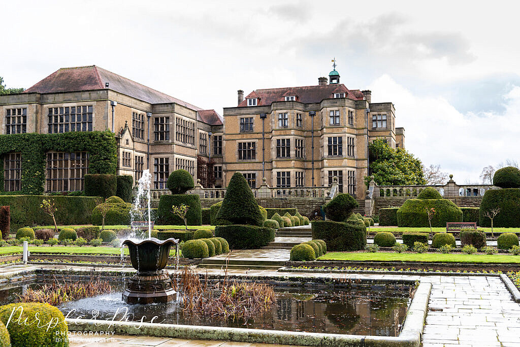The outside of Farnham Hall