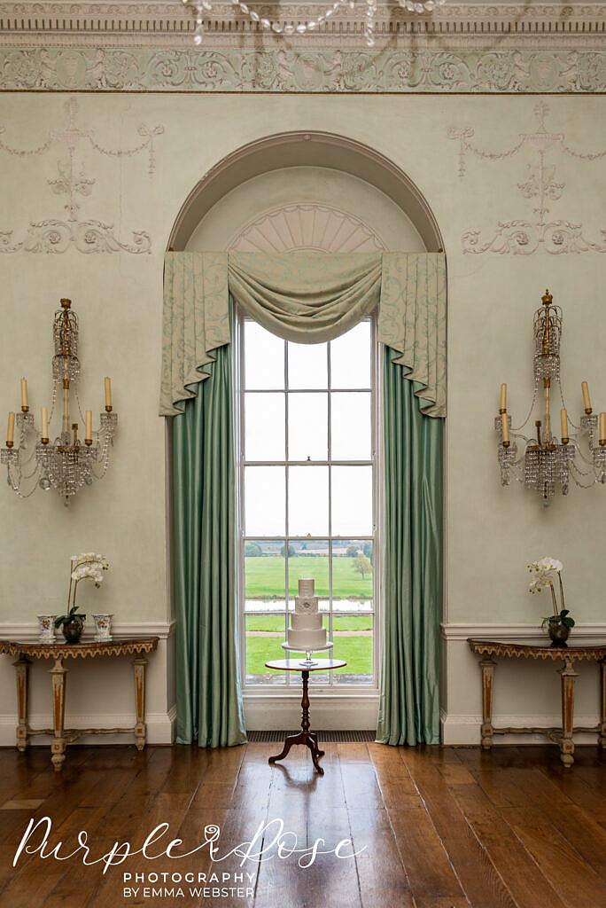 Window at Kelmarsh Hall Northampton