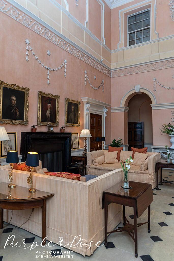 Space to relax in Kelmarsh Hall Northampton