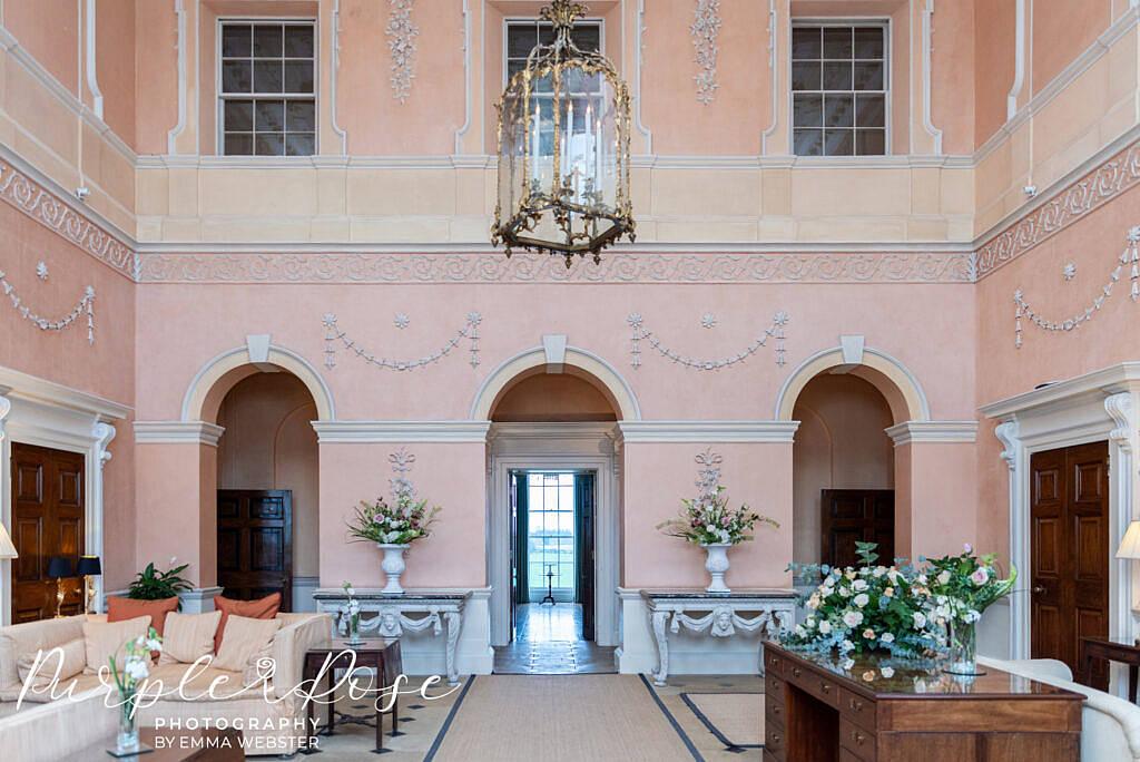Pink room in Klemarsh Hall Northampton