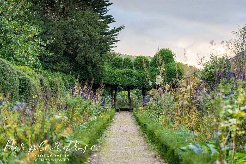 Stunning gardens in kelmarsh Hall Northampton