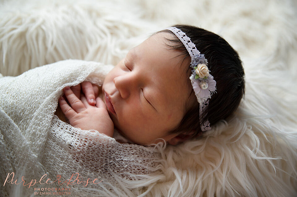 Safety during your baby's newborn photo shoot