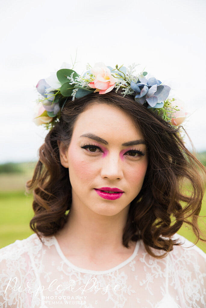 Festival bridal make up