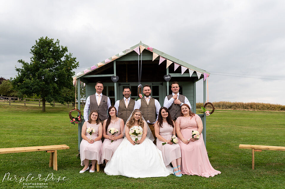 The Barn at Newton Park Farm Wedding Photographer