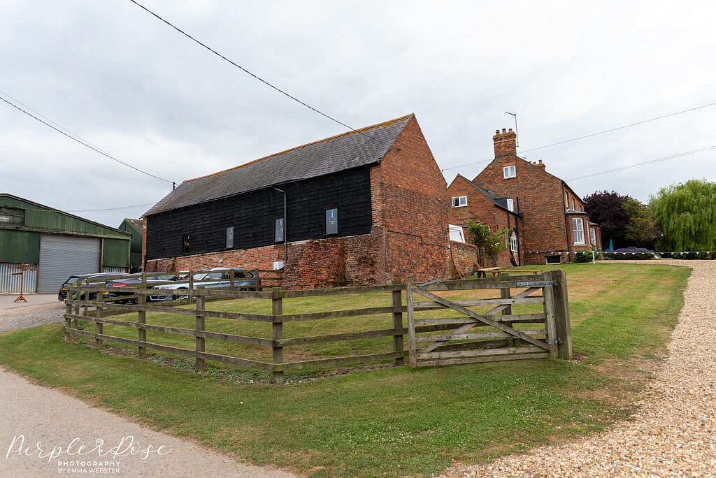 View on Newton Park Barn Wedding venue