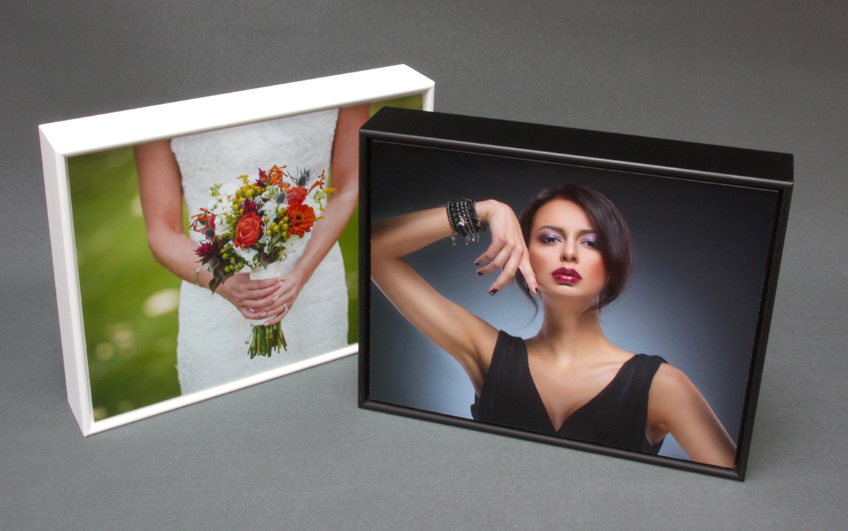 Boxed print