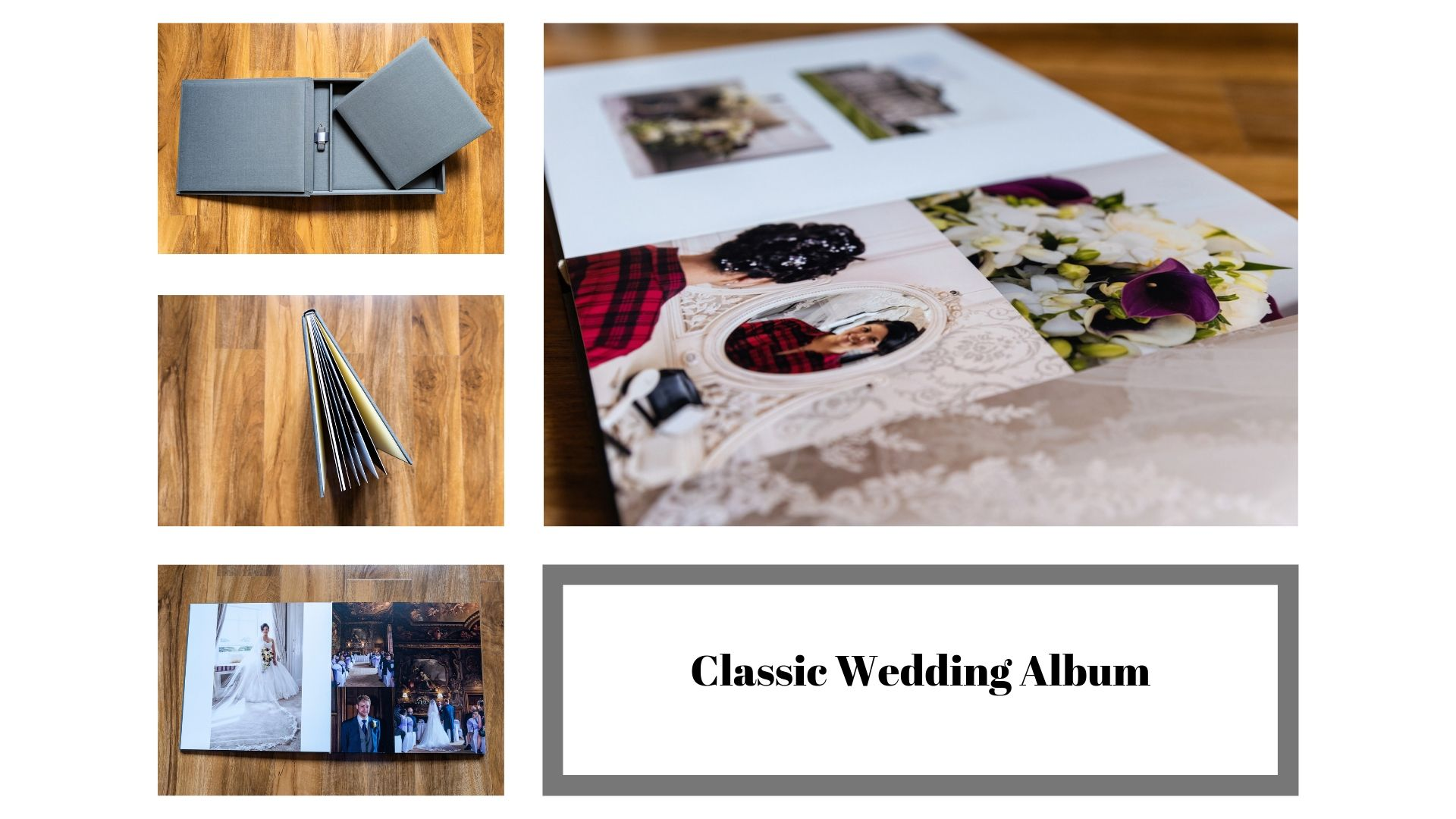 Photo of Classic wedding album