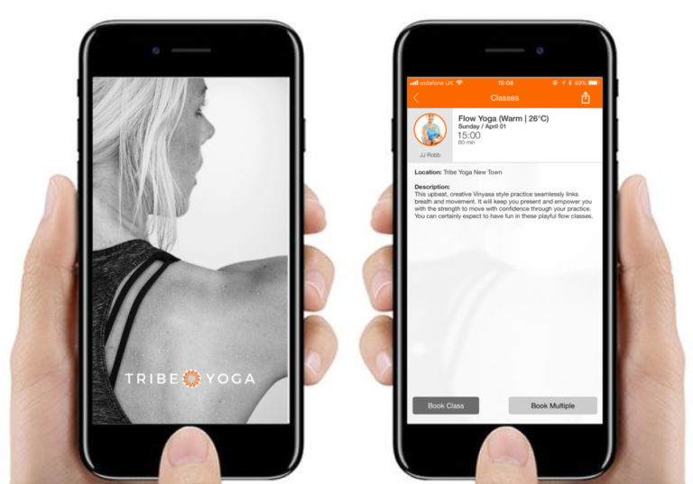 Tribe Yoga App Edinburgh