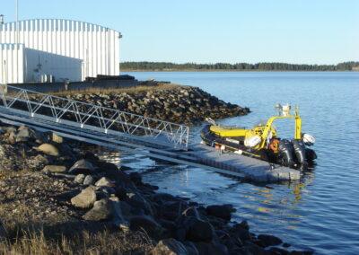 Coast guard vessel dock (1)