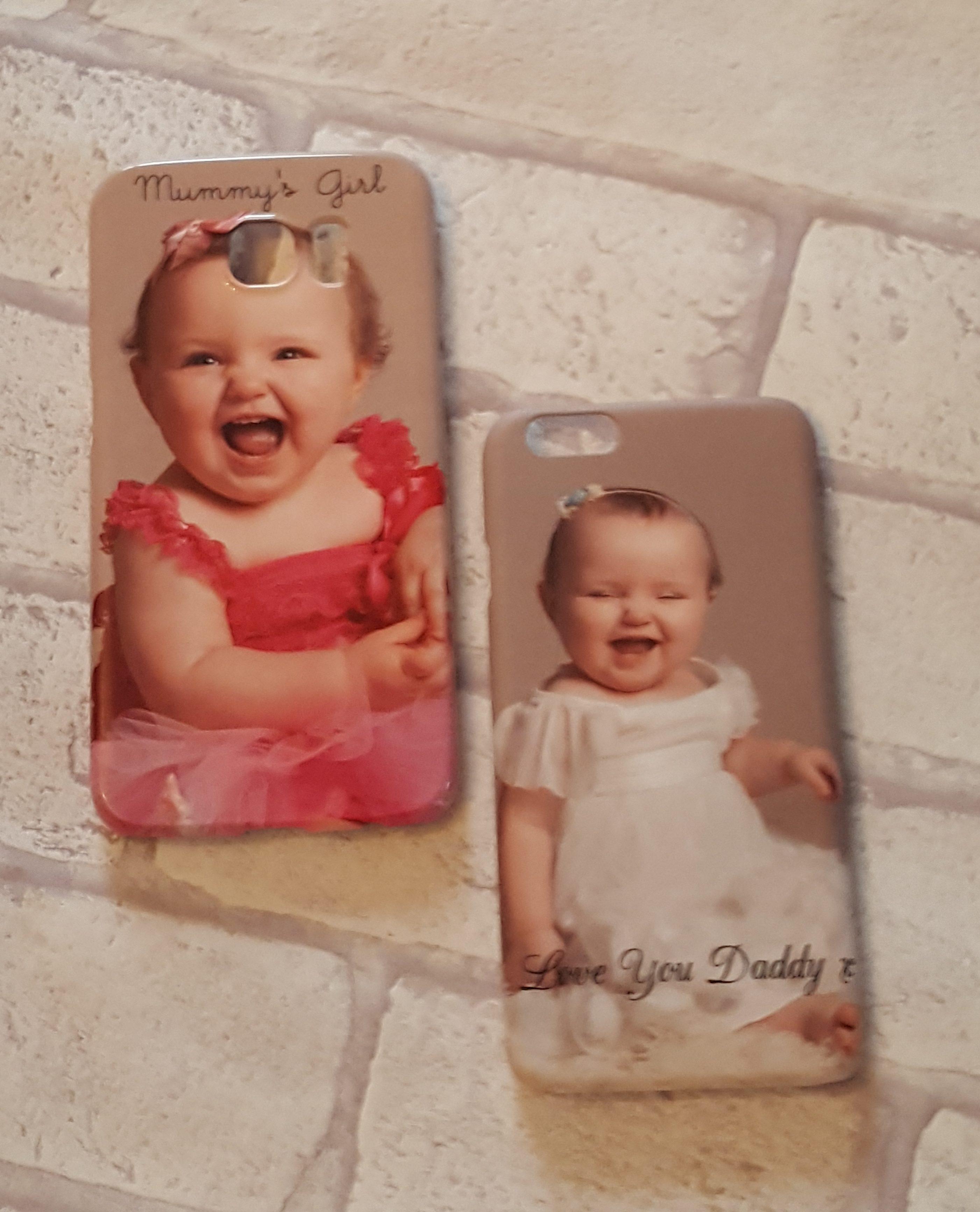 Alyssa on 2 phone cases