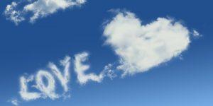 love written in the clouds
