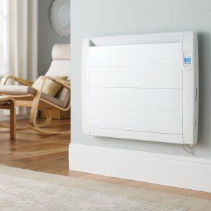 electric radiator on a wall