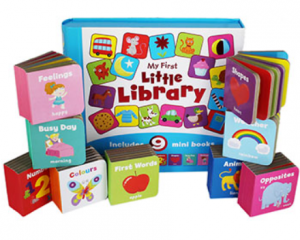 collection of little baby books