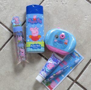 peppa pig bath products