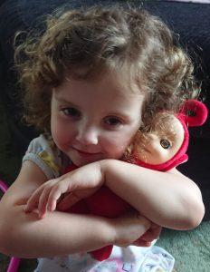 alyssa cuddling a soft talking po