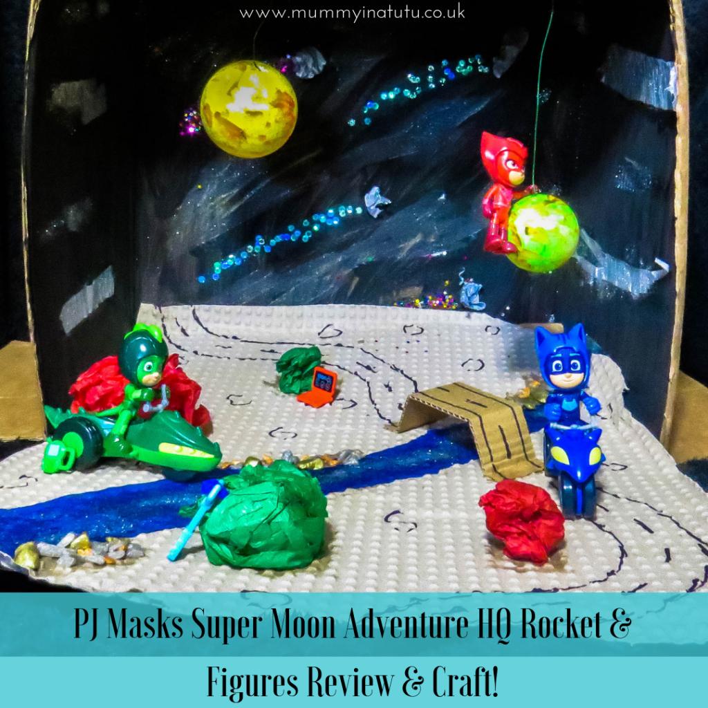 PJ Masques Super Moon Adventure Chat Boy Set Figure