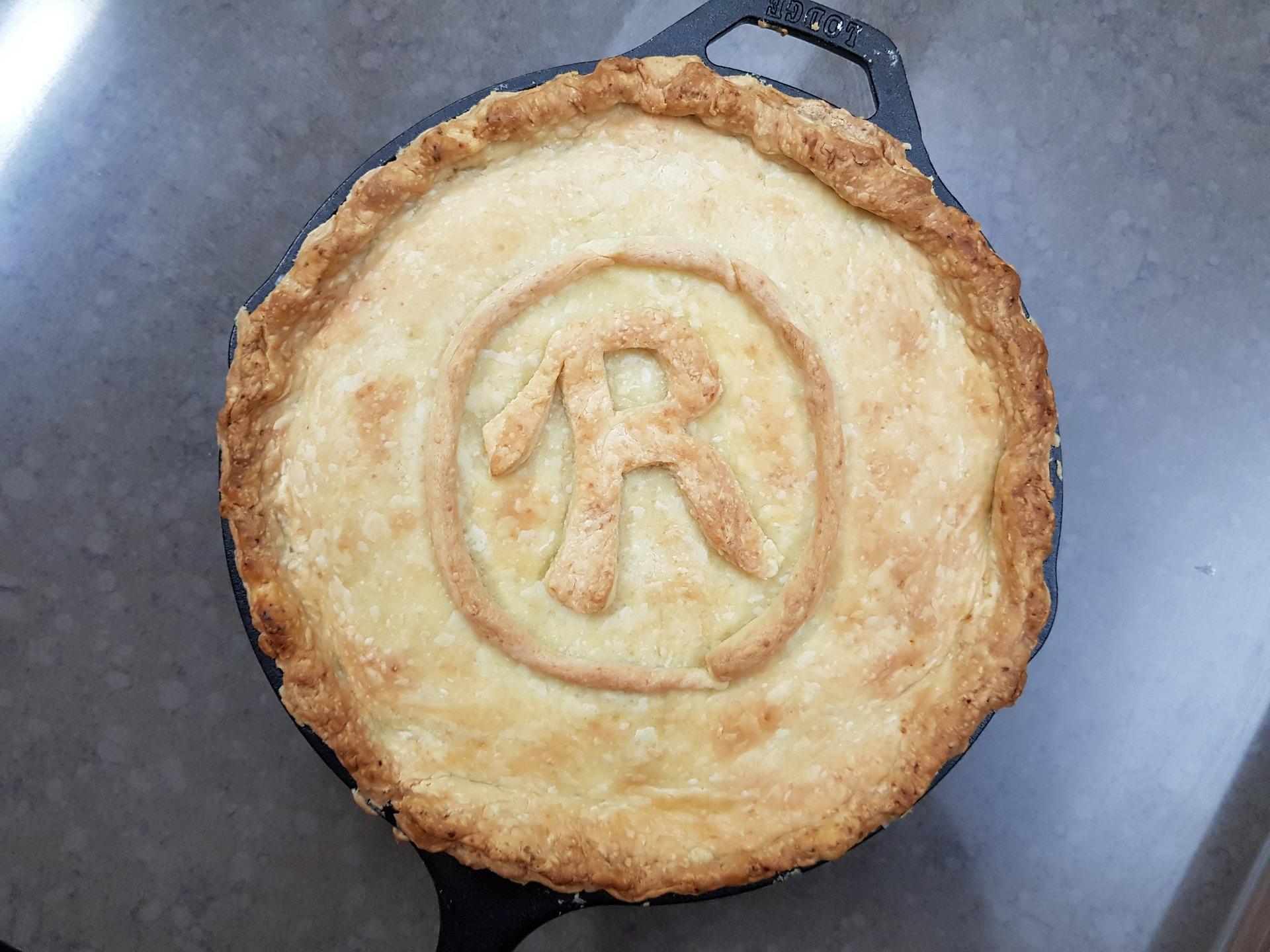 a pie top