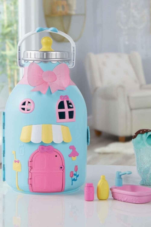BABY born Surprise Bottle Playset closed
