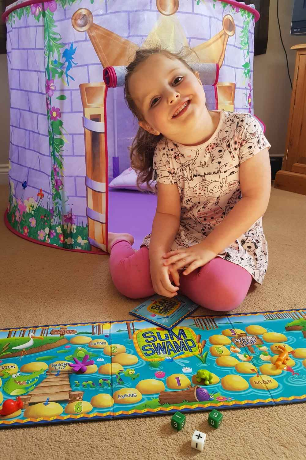 alyssa playing learning resources review game sum swamp