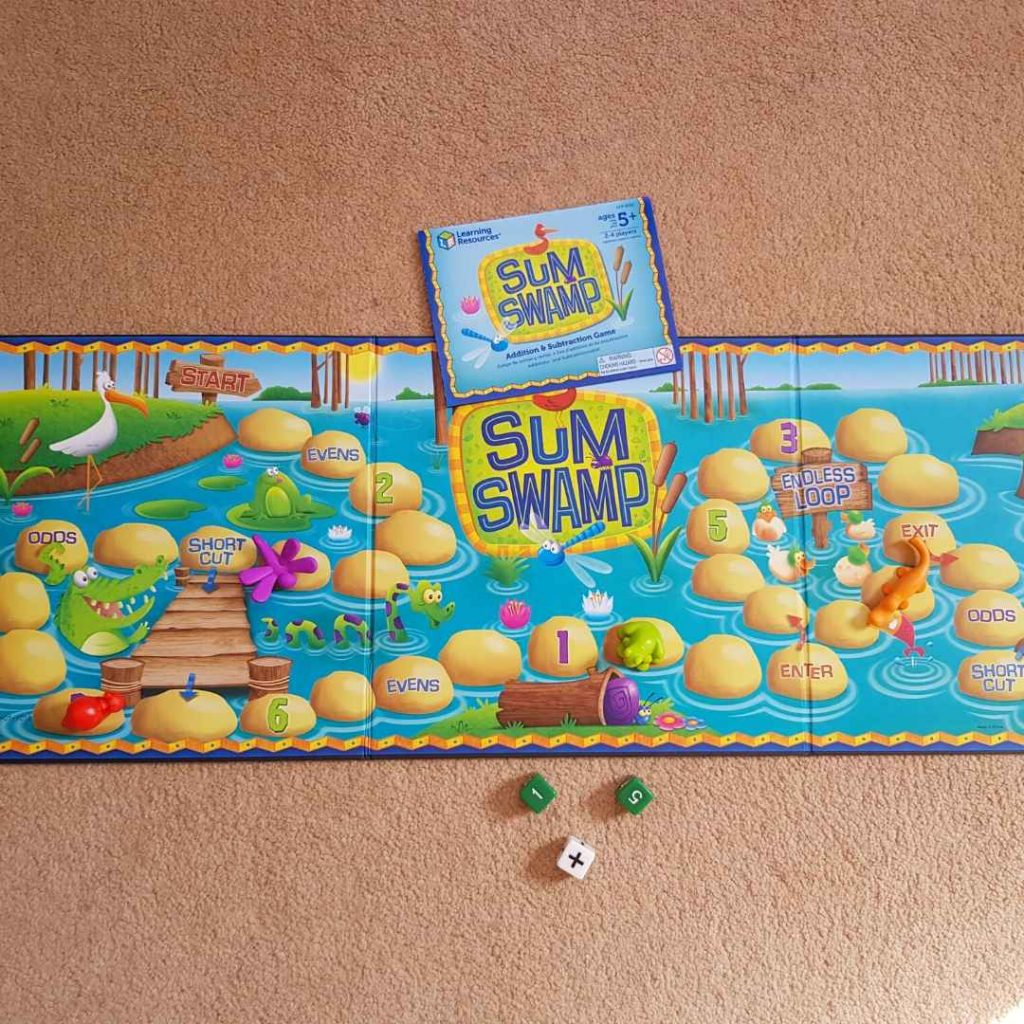 learning resources review sum swamp game