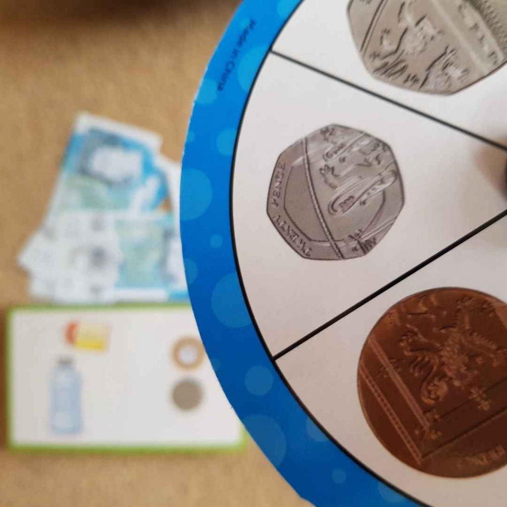 money activity set learning resources review