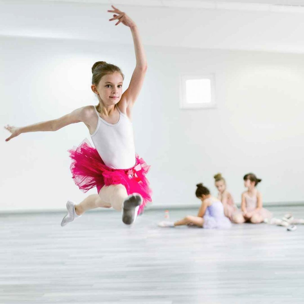 child ballet dance class