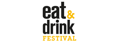 eat and drink festival logo - ts fried scoop event