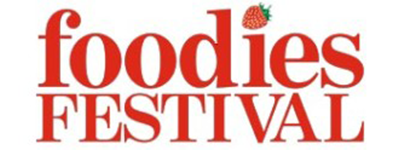 foodies festival logo ts fried scoop event