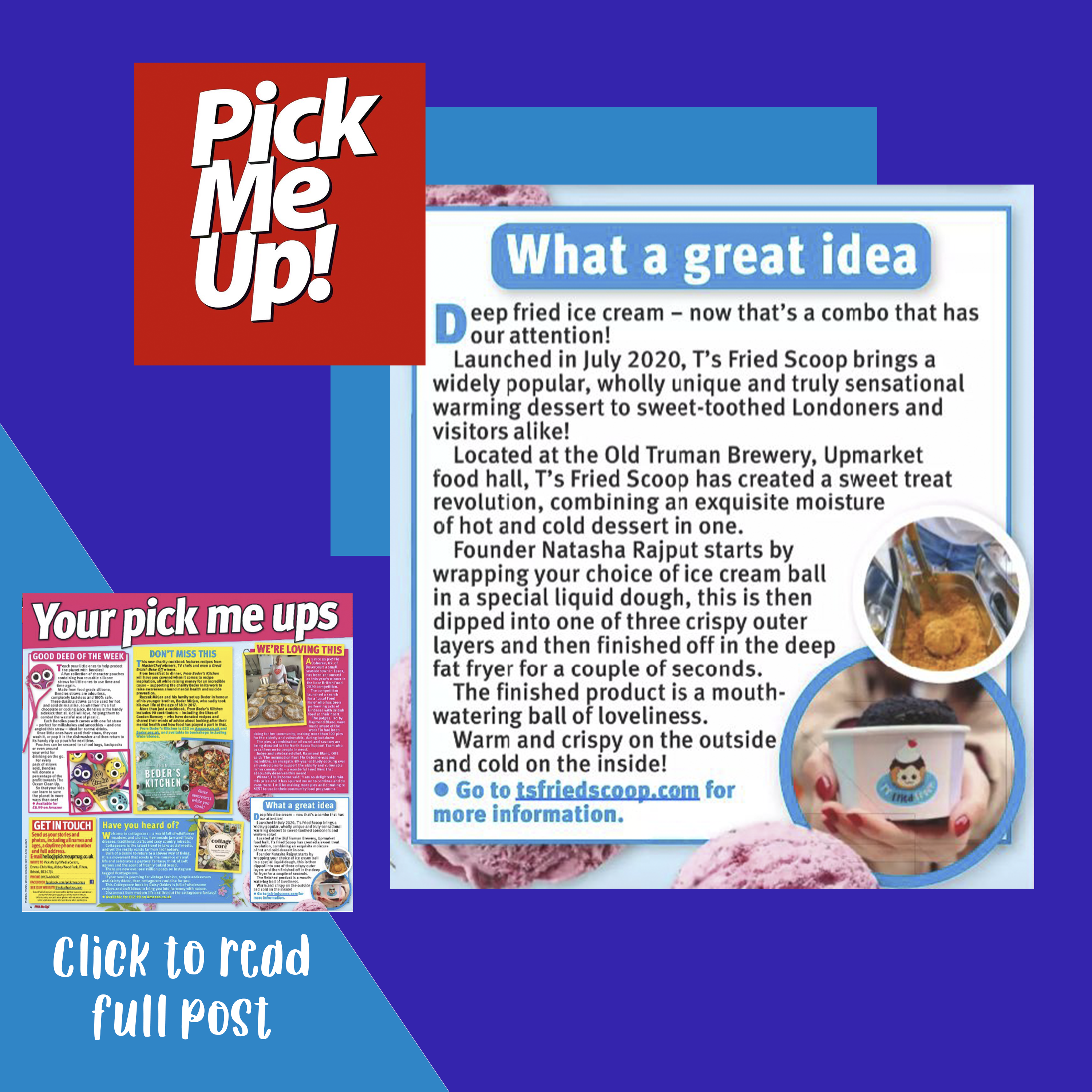 pick me up t's fried scoop review