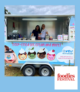 Foodies Festival T's Fried Scoop Event
