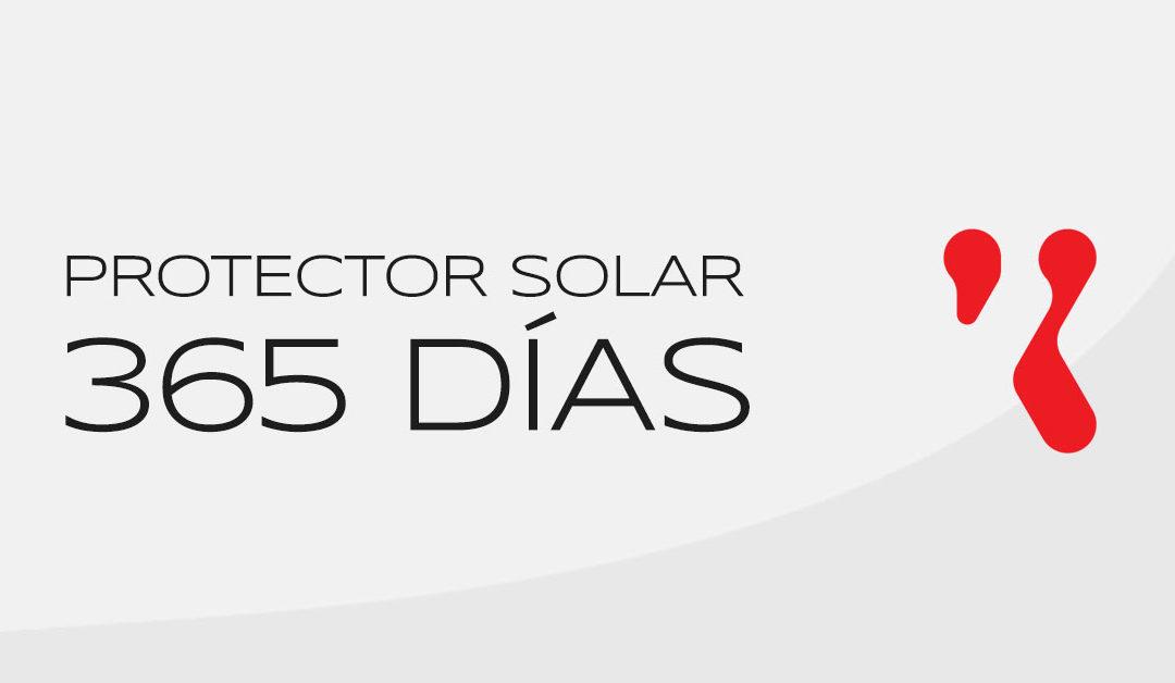 Protector solar en invierno y los 365 días del año