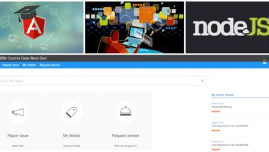 IBM Control Desk UI Next-Gen with custom theme