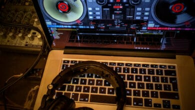 virtual dj set