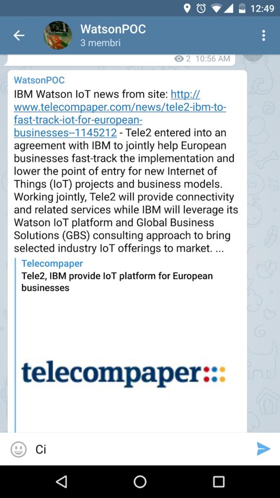 Introducing the AlchemyData newsbot on Telegram