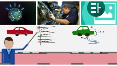 Photo of Watson visual recognition for quality control in production lines