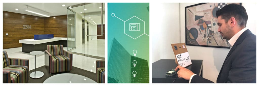 Watson IoT reception scenario
