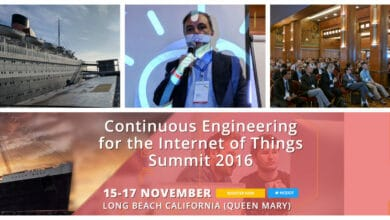 Photo of Continuous Engineering for the Internet of Things Summit 2016