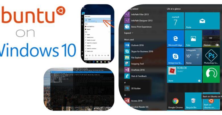 Photo of Ubuntu bash on Windows 10