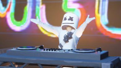 Photo of Marshmello makes history with first ever Fortnite in-game concert