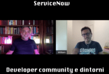 Photo of ServiceNow: developer community e dintorni con William Olivieri