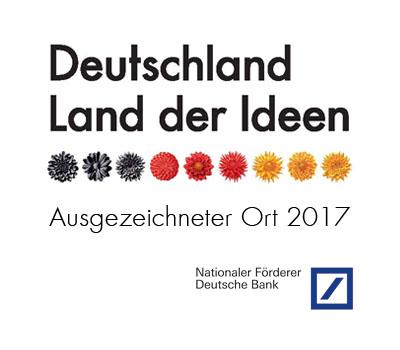 DONGXii wins Deutschland Land der Ideen Prize 2017