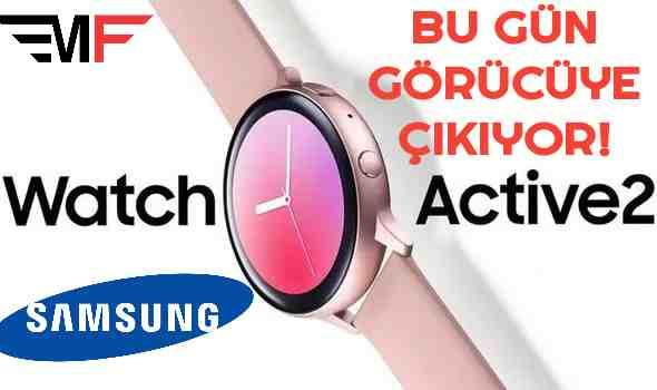 GALAXY WATCH ACTİVE 2 TANITILIYOR.