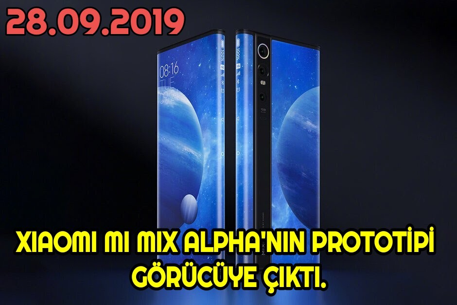 Xiaomi Mi MİX Alpha